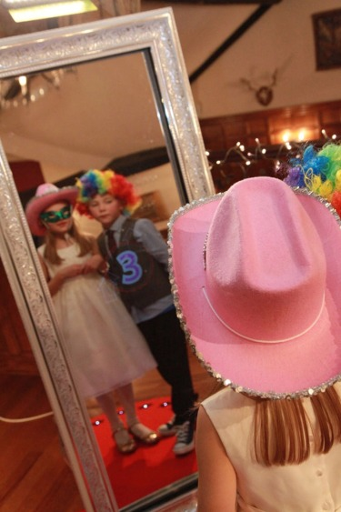 Magic Mirror Photo Booth Hire in Cannock